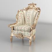 cadeira clássica 3d model