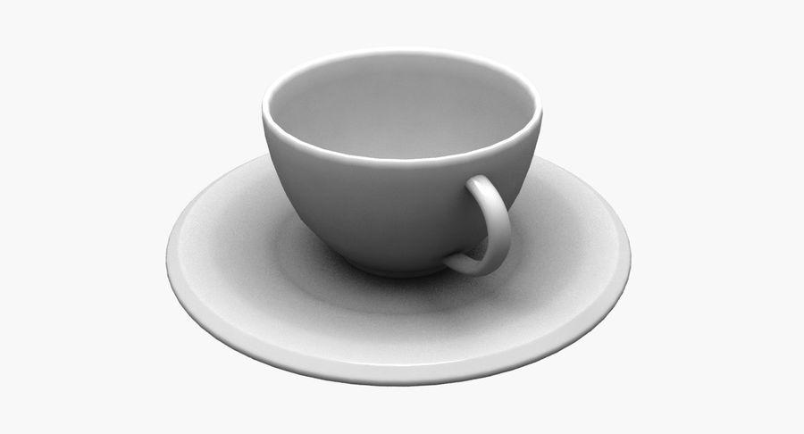 Kaffeetasse royalty-free 3d model - Preview no. 2