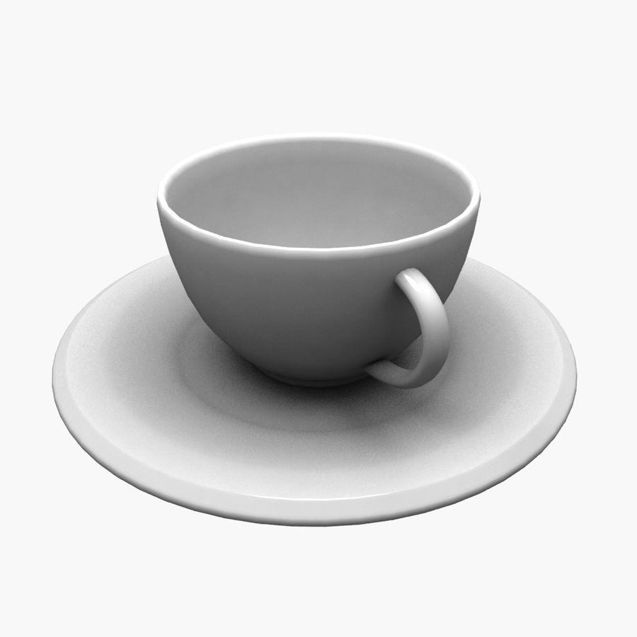Kaffeetasse royalty-free 3d model - Preview no. 1