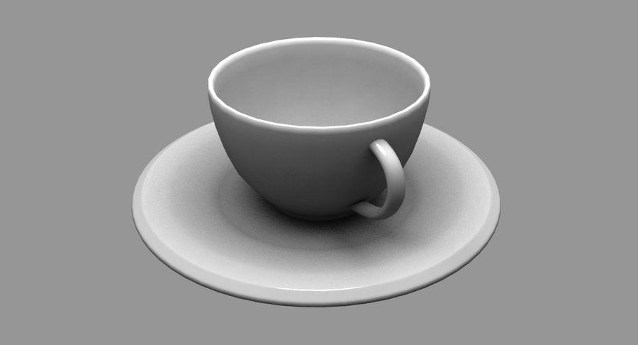 Kaffeetasse royalty-free 3d model - Preview no. 3