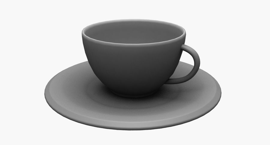 Kaffeetasse royalty-free 3d model - Preview no. 11