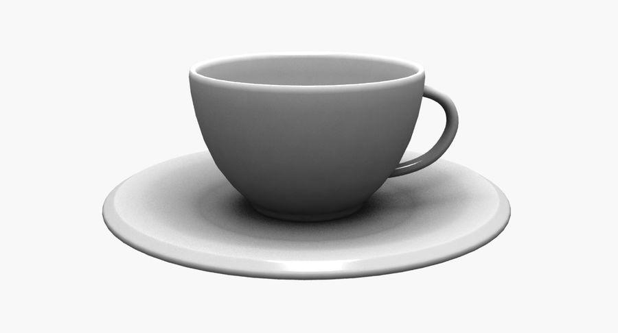 Kaffeetasse royalty-free 3d model - Preview no. 7