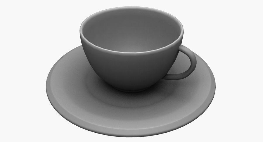 Kaffeetasse royalty-free 3d model - Preview no. 12