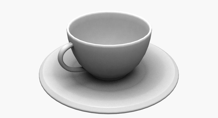 Kaffeetasse royalty-free 3d model - Preview no. 4