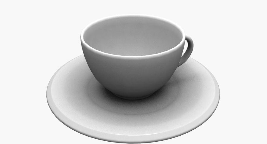 Kaffeetasse royalty-free 3d model - Preview no. 6