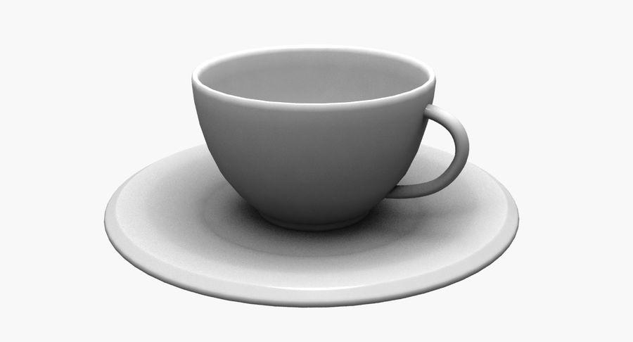 Kaffeetasse royalty-free 3d model - Preview no. 8