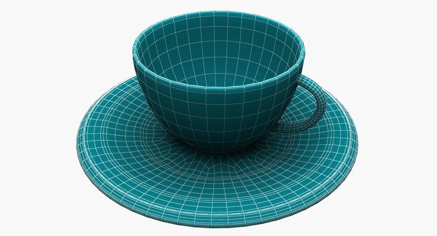 Kaffeetasse royalty-free 3d model - Preview no. 9