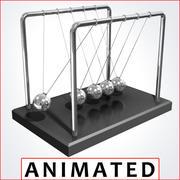 行政玩具牛顿摇篮 3d model