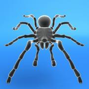 타란툴라 거미 3d model