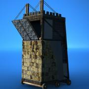 wieża oblężnicza 3d model