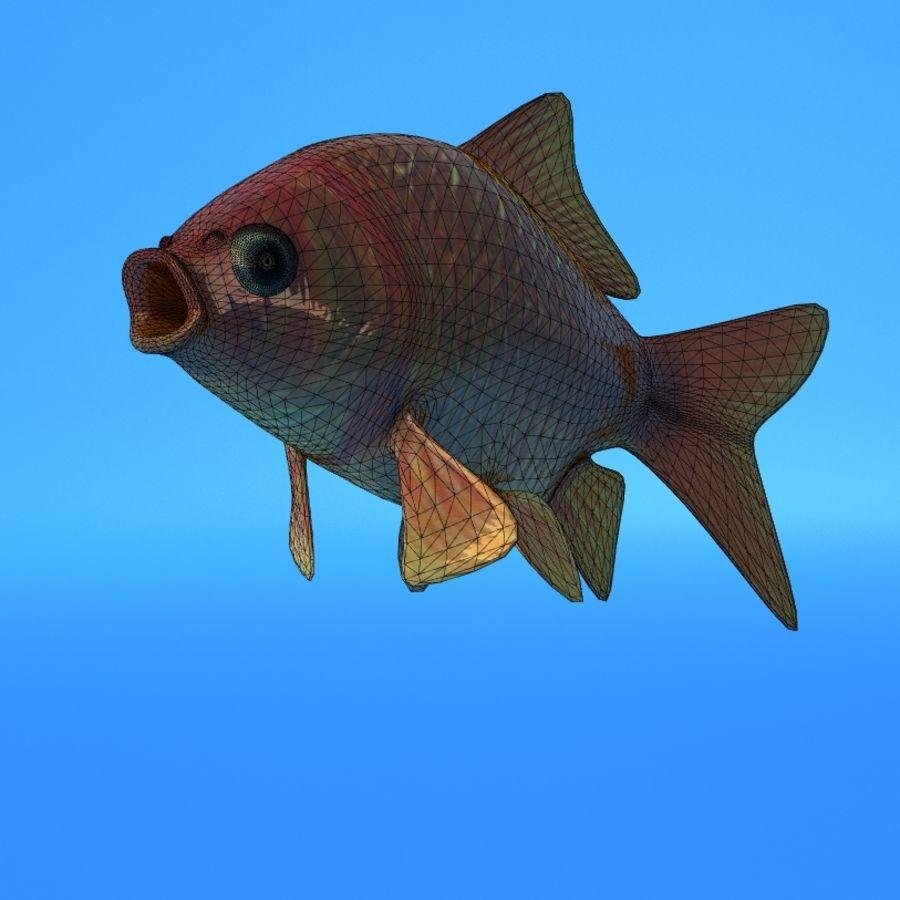 Akvaryum balığı royalty-free 3d model - Preview no. 7