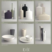 Vaso Kose 3d model