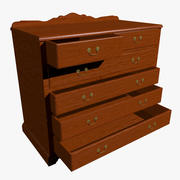Chest of Draws 3d model