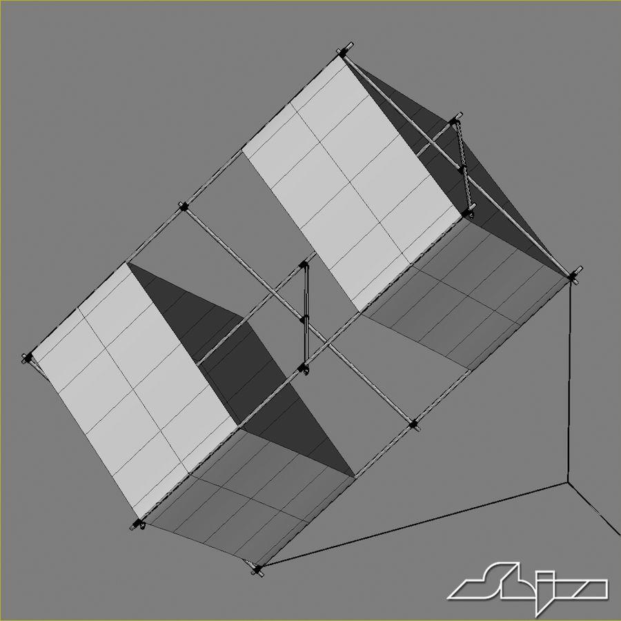Box Kite royalty-free 3d model - Preview no. 6