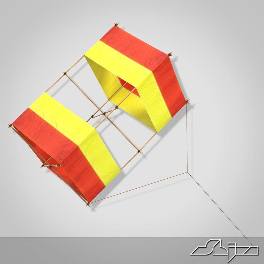 Box Kite royalty-free 3d model - Preview no. 3