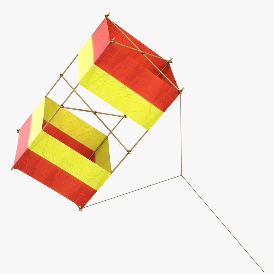 Box Kite royalty-free 3d model - Preview no. 1