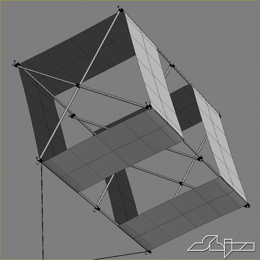 Box Kite royalty-free 3d model - Preview no. 7