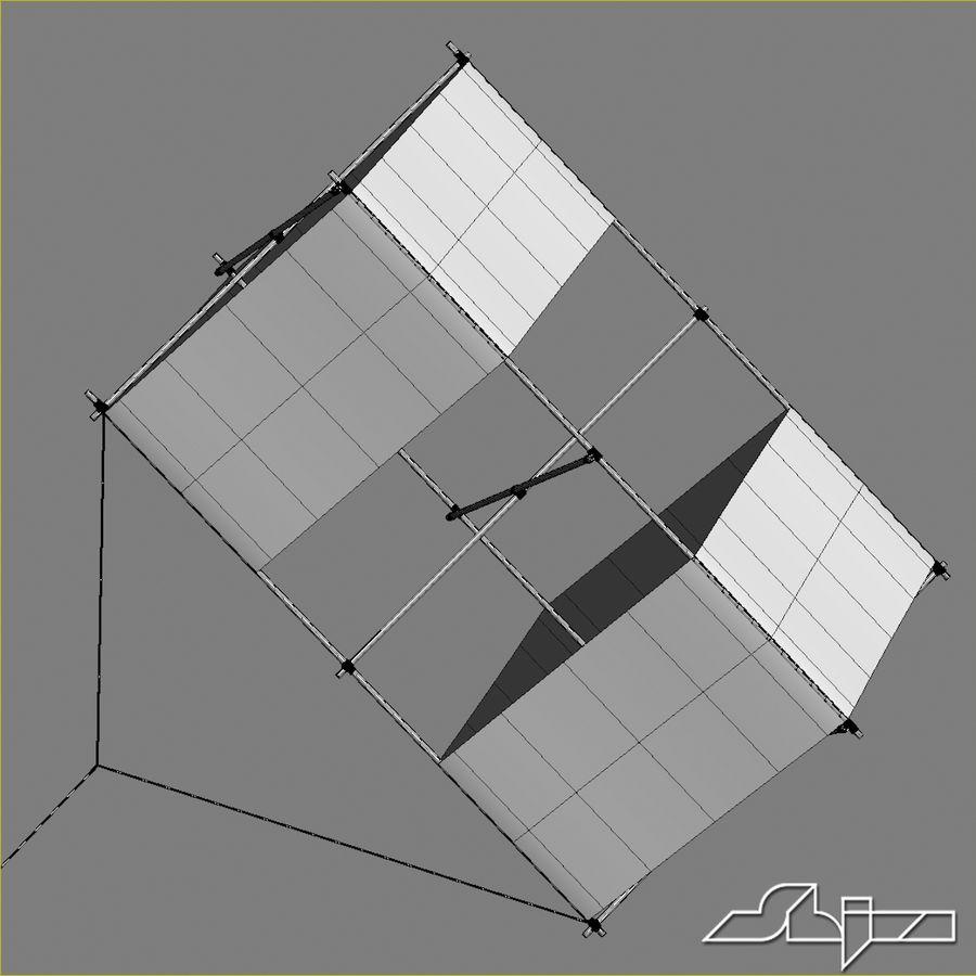 Box Kite royalty-free 3d model - Preview no. 8