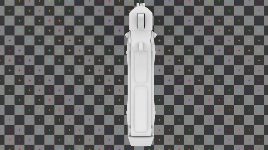 コルト1911 royalty-free 3d model - Preview no. 3