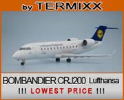 bombardier crj-200 Lufthansa 3d model