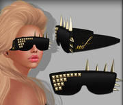 Óculos de sol cravado 3d model