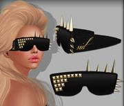Spiked Sunglasses 3d model