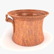 Vintage Planter Pot 3d model