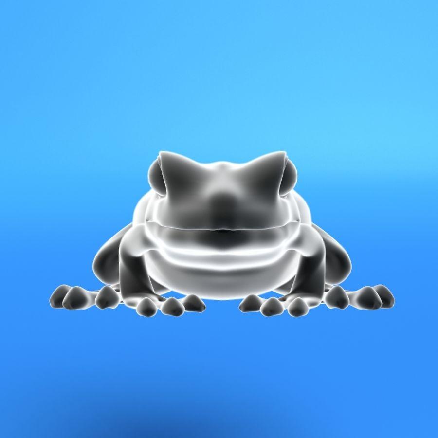 カエル royalty-free 3d model - Preview no. 1