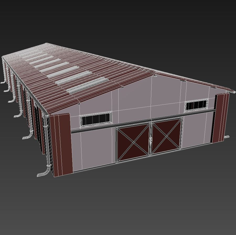 lager royalty-free 3d model - Preview no. 11
