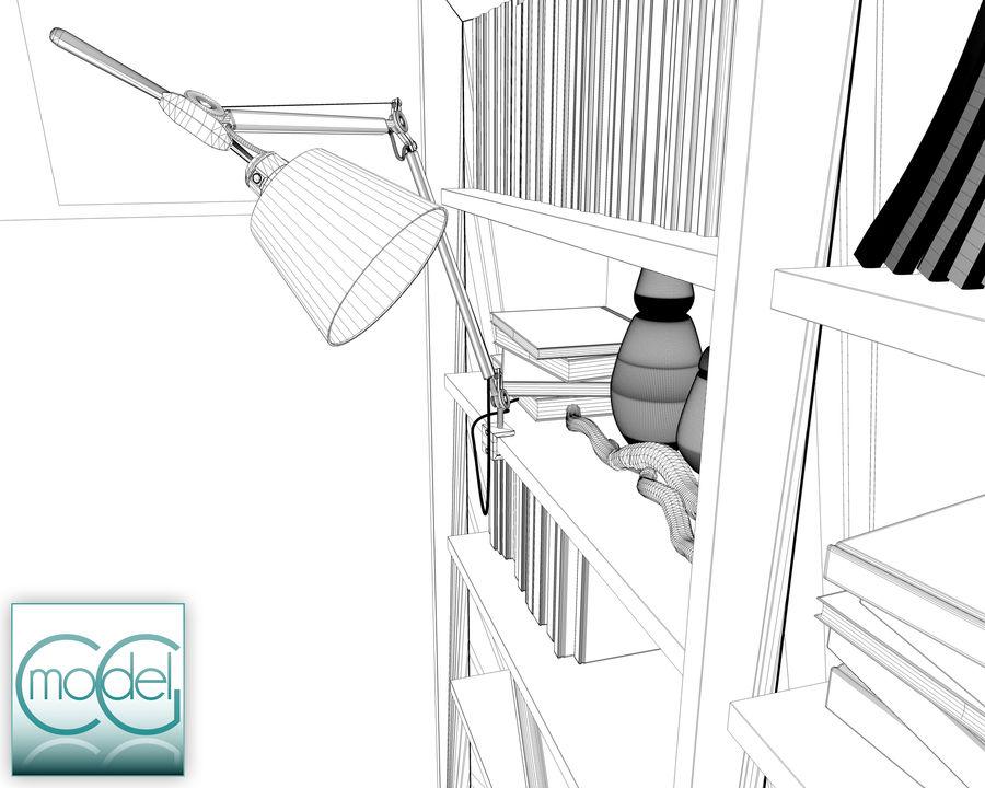 lampada articolata royalty-free 3d model - Preview no. 7