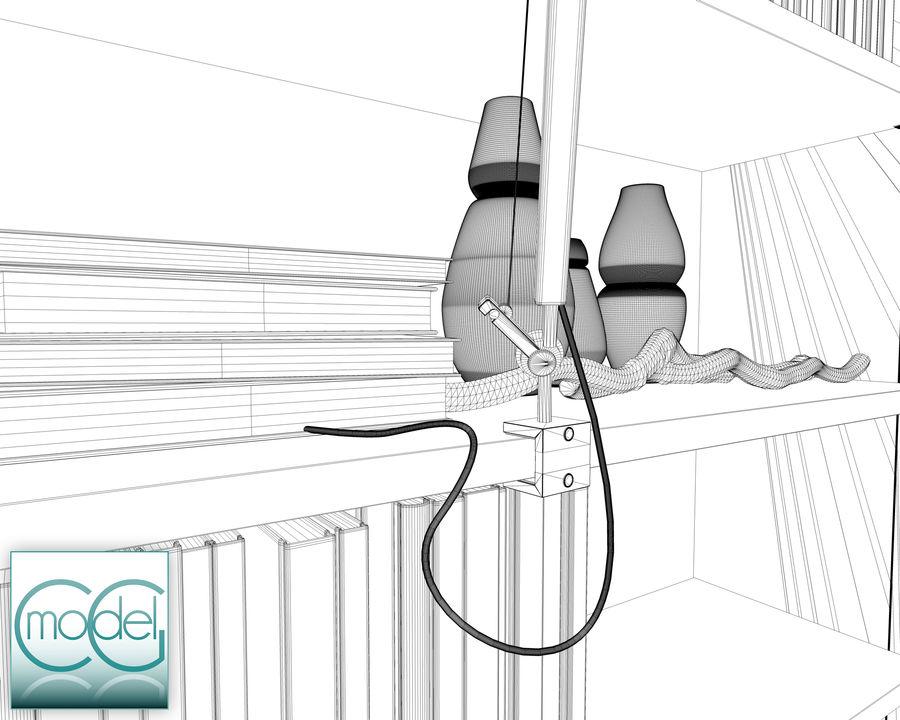 lampada articolata royalty-free 3d model - Preview no. 10
