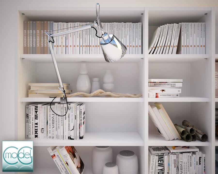 lampada articolata royalty-free 3d model - Preview no. 1