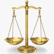 Balance Scales 3d model