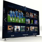 """삼성 스마트 TV F8000 HD 55 """" 3d model"""