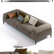 Poliform - Metropolitan - Sofa 3d model