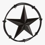 Star Barbed 3d model