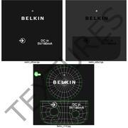 Receptor de música Bluetooth Belkin F8Z492TTP modelo 3d