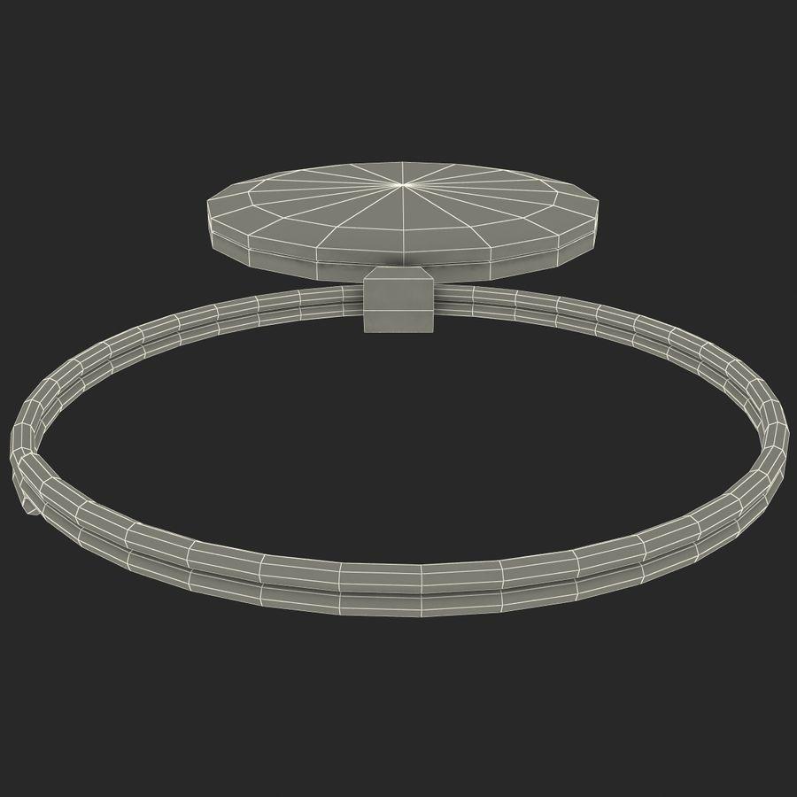 Wine Glass Pendant Sagittarius royalty-free 3d model - Preview no. 17