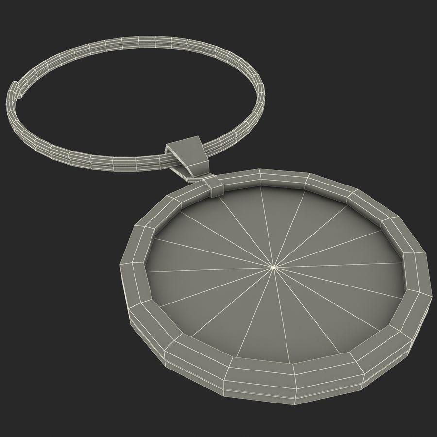 Wine Glass Pendant Sagittarius royalty-free 3d model - Preview no. 21
