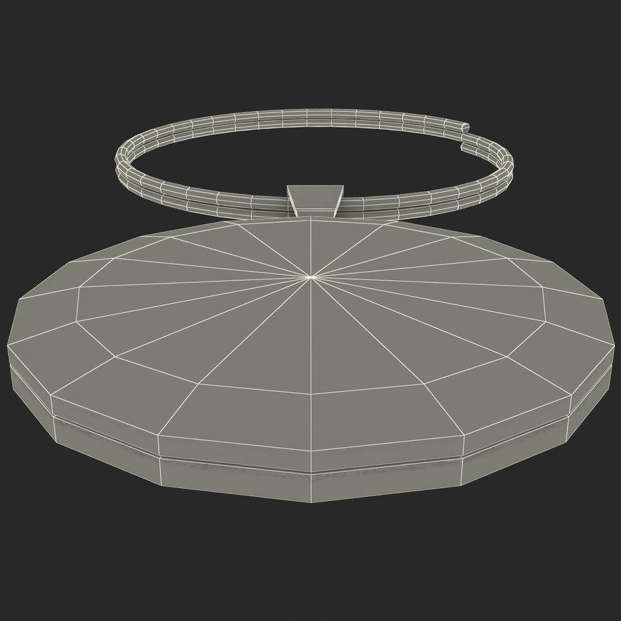 Wine Glass Pendant Sagittarius royalty-free 3d model - Preview no. 15