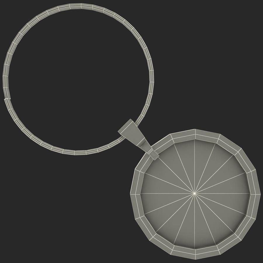 Wine Glass Pendant Sagittarius royalty-free 3d model - Preview no. 20