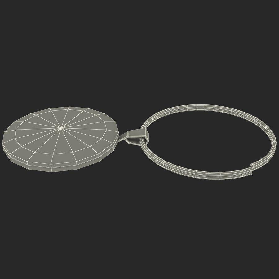 Wine Glass Pendant Sagittarius royalty-free 3d model - Preview no. 16