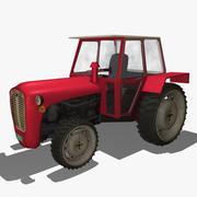 Ciągnik 3d model