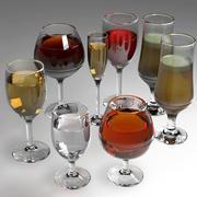 Bicchiere 3d model