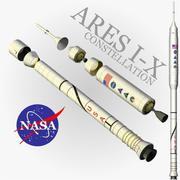 Ares I-X Nasa 3d model