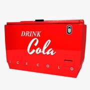 Vintage Cola Chest 3d model