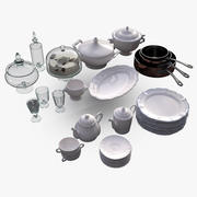 Mutfak aksesuarları 3 3d model