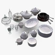 Kitchen Accessories 3 3d model