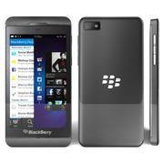 BlackBerry Z10 3d model