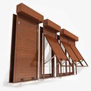 百叶窗 3d model